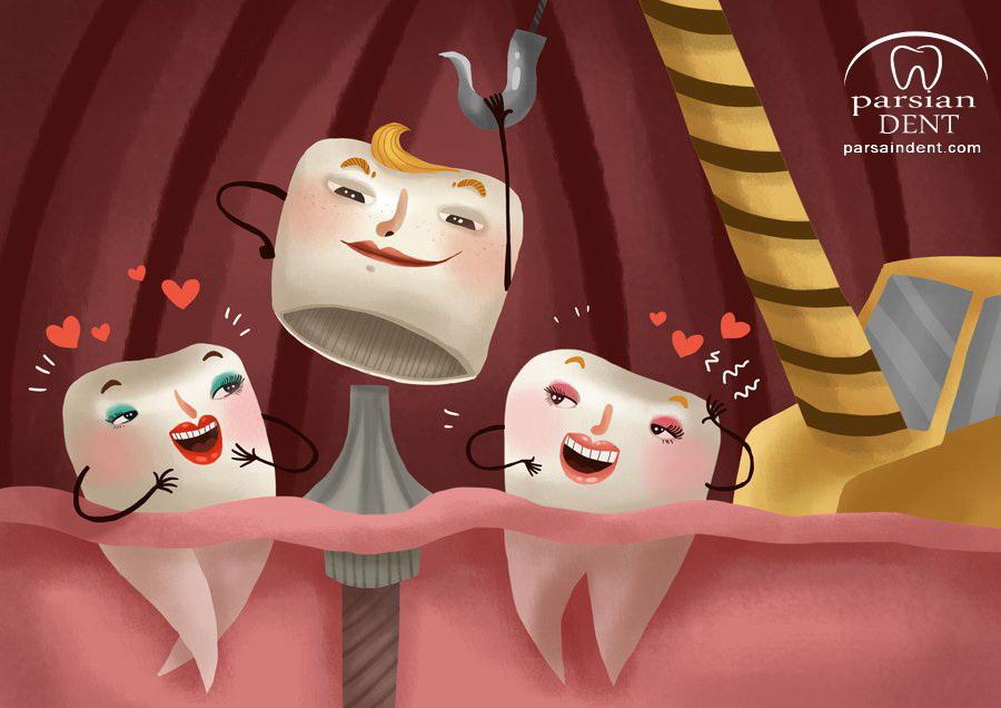 راههای درمان دندانی که تاج آن از بین رفته چیست؟